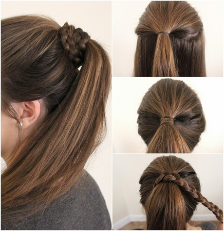 25+ Best Ideas About Easy School Hairstyles On Pinterest | Messy
