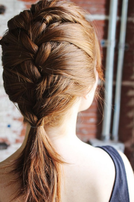 Easy braided hairstyles for girls