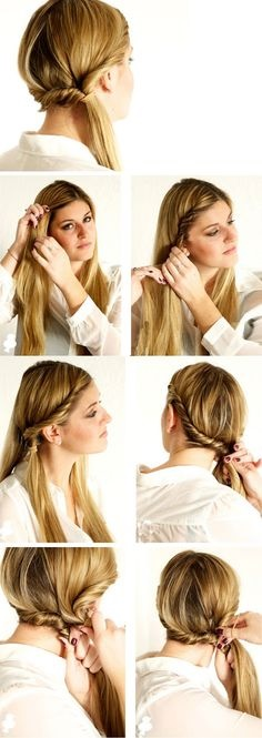 Easy quick hairstyles for long hair