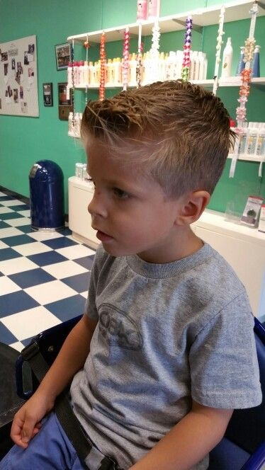 Boys haircuts straight fine hair