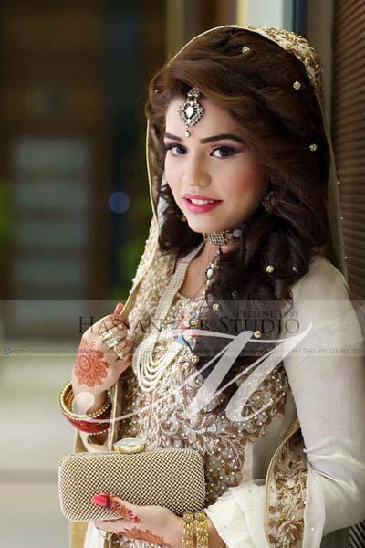 Latest Fashion Pakistani Bridal Makeup Hairstyle Collection 2016