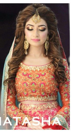 Indian Bridal Hairstyles 2016 Latest Ideas With HD Pictures 2