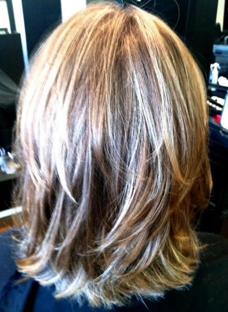 Back View Of Shoulder Length Hair