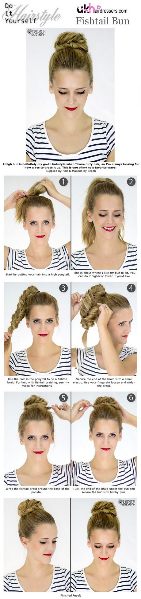 Cute easy fast hairstyles for medium length hair 2 minute quick hairstyle tutorials for medium lengthshort hair solutioingenieria Image collections