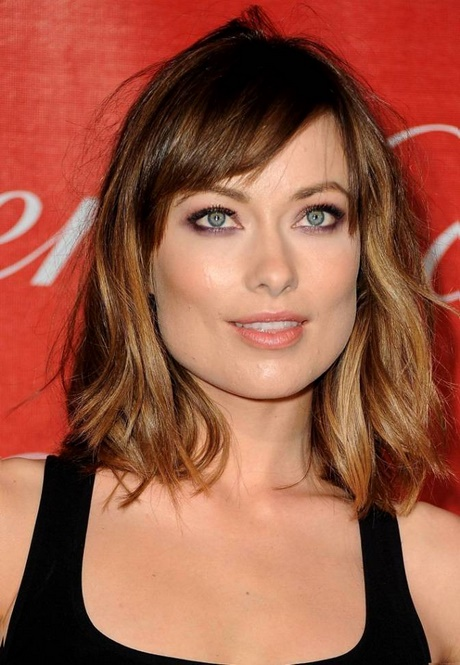 Just Above Shoulder Length Hairstyles