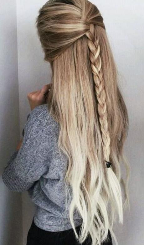 Quick easy hairstyles for long thick hair