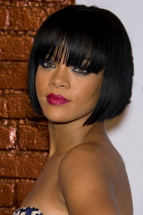 Short to medium hairstyles for black women