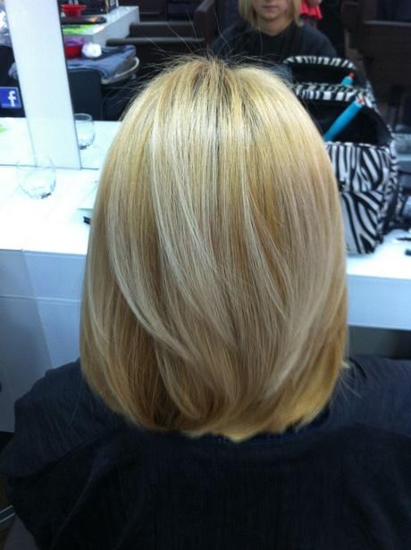 Shoulder Length Hair Back View