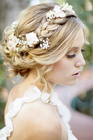 Bridal Hair} 25 Wedding Upstyles And Updos