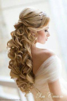Elegant Wedding Hairstyles And