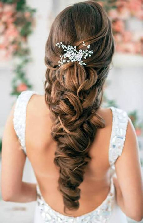 Long hair wedding hairdos top wedding hairstyles for long hair 13 hairzstyle junglespirit Choice Image