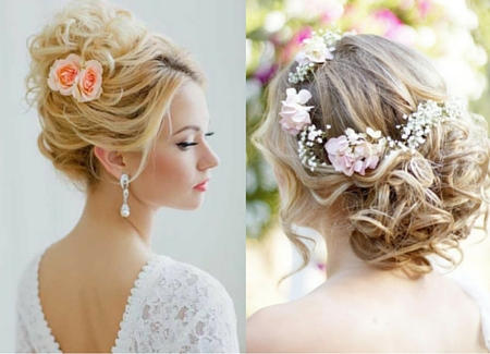 Wedding updo hairstyles summer wedding updo hairstyles junglespirit Choice Image