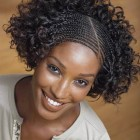 Afro braided hairstyles