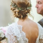 Amazing wedding hair