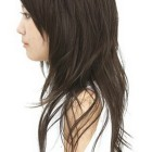 Asian layered haircut