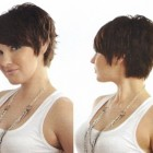 Back of pixie haircut