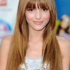Bangs hairstyle for long hair