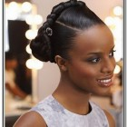 Black braid updo hairstyles