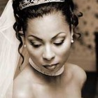 Black hairstyles wedding