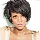 Black short hair