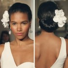 Black wedding hair