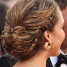 Braided hairstyle updos