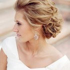 Bridal bridesmaid hairstyles