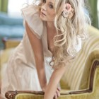 Bridal down hairstyles