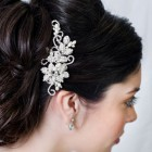 Bridal hair clips