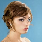 Bridal hair styles for short hair