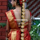 Bridal hairstyle for south indian wedding