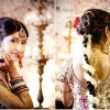 Bridal hairstyle indian wedding