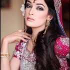Bridal hairstyle pakistani
