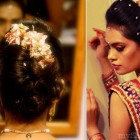 Bridal hairstyles indian wedding