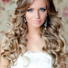 Bridal hairstyles long hair down