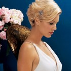 Bridal hairstyles short hair