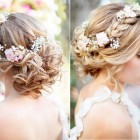 Bridal wedding hairstyle