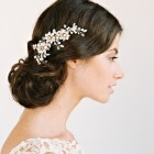 Bride hair accessories