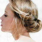Casual wedding hair