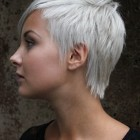 Cropped pixie haircut