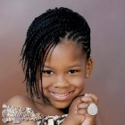 Cute braided hairstyles for little black girls
