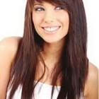 Cute haircuts for long hair with bangs