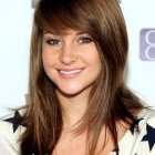 Cute layered haircuts with side bangs