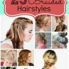 Easy braids hairstyles