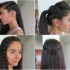 Easy hair braids