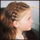 Girls hair braids