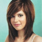 Haircuts for medium length hair with bangs and layers