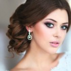 Hairstyle for bride 2015