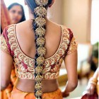 Hairstyle for bride indian wedding
