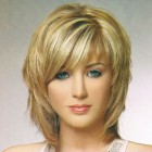 Hairstyle for layered haircut